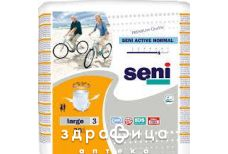 Пiдгузники seni  active normal large №30