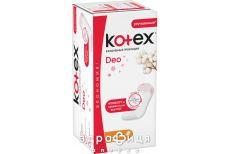 Прокладки kotex normal deo щоден №20 Щоденні прокладки