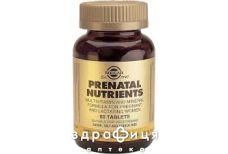 Solgar солгар-прегнакапс таб №60 вітаміни для вагітних