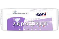 Подгузники super SENI (Сени) plus extra large №30