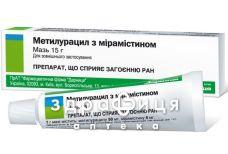 Метилурацил с мирамистином мазь туба 15г для заживления ран