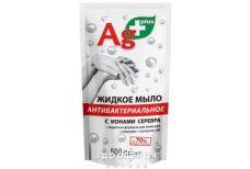 Мило рідке антибакт ag+ с іонами срібла дой-пак 500мл мило