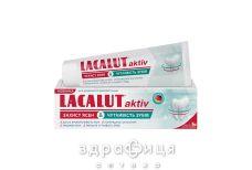 Зубная паста лакалут актив защит десен д/чувст зубов 75мл