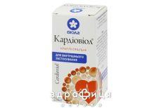 Кардіовіол краплі орал.фл. 25мл таблетки від серця