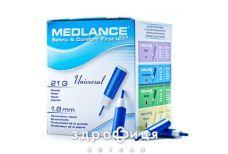 Ланцеты Medlance plus universal ст автомат 21g 1,8мм №1