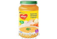 Milupa суп-пюре овочевий суп з курча з 7міс 200г