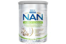 Nestle (Нестле) NAN (НАН) смесь молочная тройной комфорт 400г 1000037