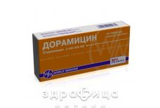 ДОРАМIЦИН ТАБ В/О 3000000МО №10 (5Х2) антибіотики