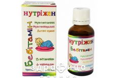 Нутрiжен бебiтамiн крап 30мл вітаміни для дітей