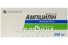 Ампициллин таб 250мг №20