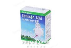 Еспiкол бебi крап орал 40мг/мл з піпет 30мл таблетки від здуття живота