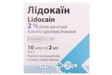 ЛiДОКАЇН Р-Н Д/IН 2% 2МЛ №10