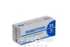 Ламотрин 25 таб 25мг №30 таблетки от эпилепсии