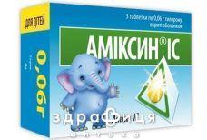 Амiксин ic табл. в/о 0,06 г №3