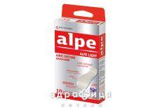 Пластырь Alpe (Алпе) светлый классик 76х19 №10