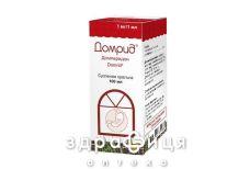 Домрид сусп. орал. 1 мг/1мл фл. 100 мл з мiрною ложкою №1 таблетки від нудоти і блювоти